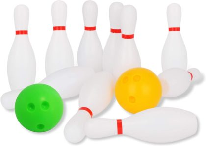 This is an image of Liberry's Outdoor Bowling Set