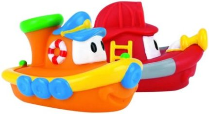 This is an image of Nuby'sNuby's Boat Bathing Toys