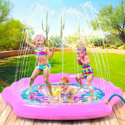 This is an image of Outdoor Inflatable Splash Pad