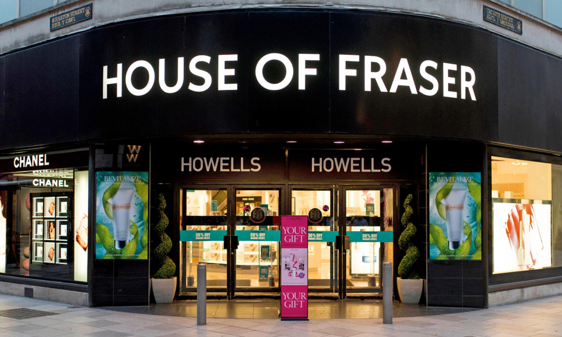 House of Fraser For Kids