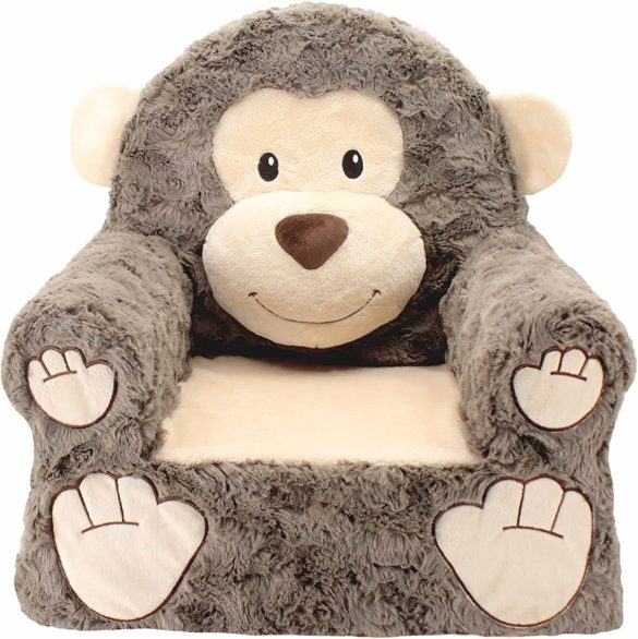 This is an image of Plush Animal Themed Chairs