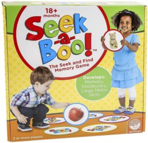 Seek-A-Boo toy boxset